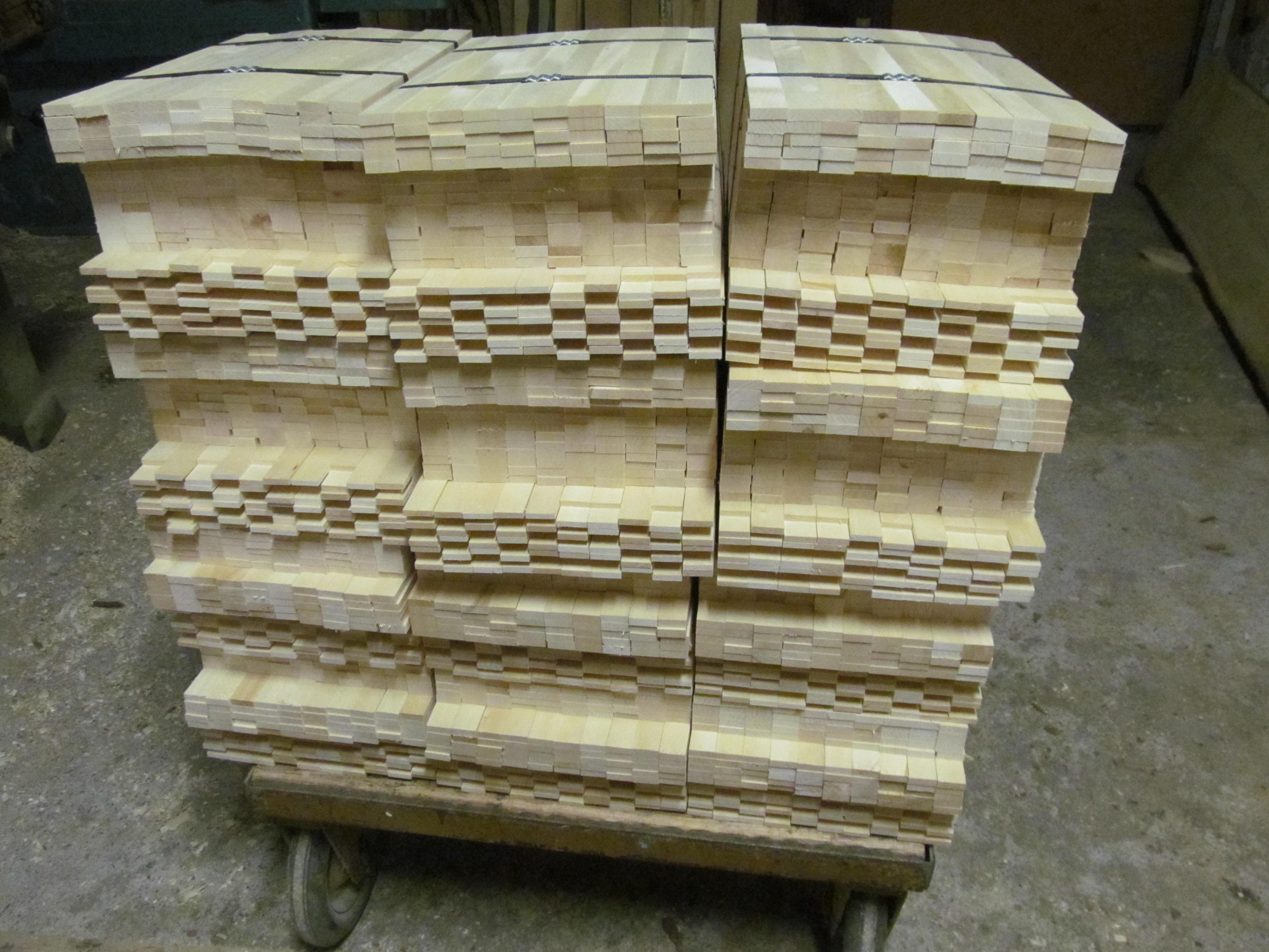 Výroba rámkových přířezů