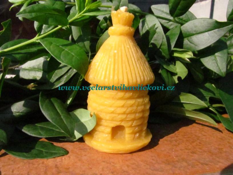 Svíčka ze včelího vosku Včelí úl