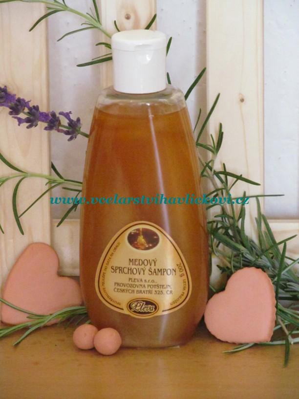Medový sprchový šampon