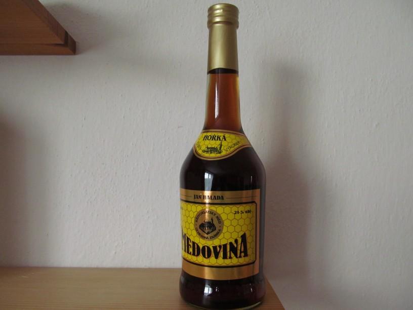 Medovina Hořká _ Halada 21%