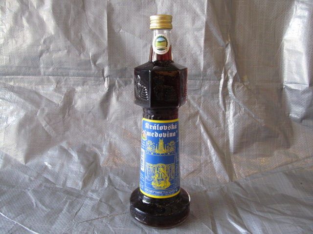 Medovina Královská malá– přírodní 0,14L