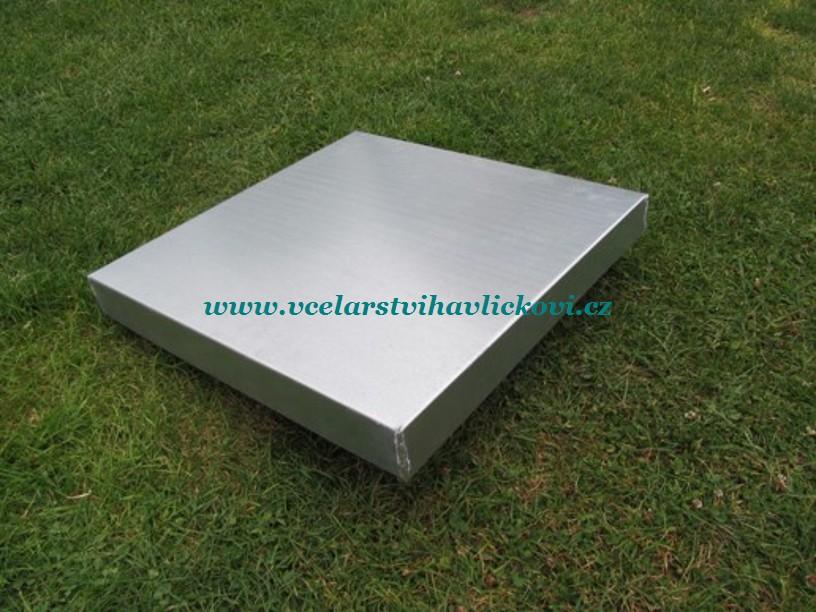 Plechová střecha na úl na nezateplené nástavky (Pozinkovaná, letovaná)