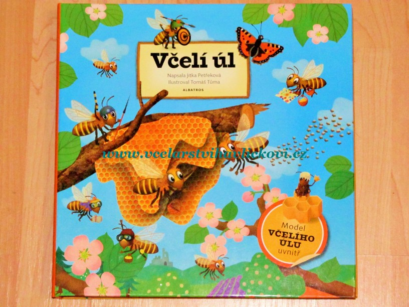 Včelí úl - model uvnitř