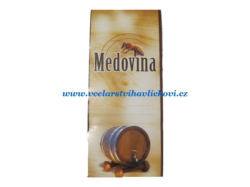 Etiketa na medovinu SOUDEK